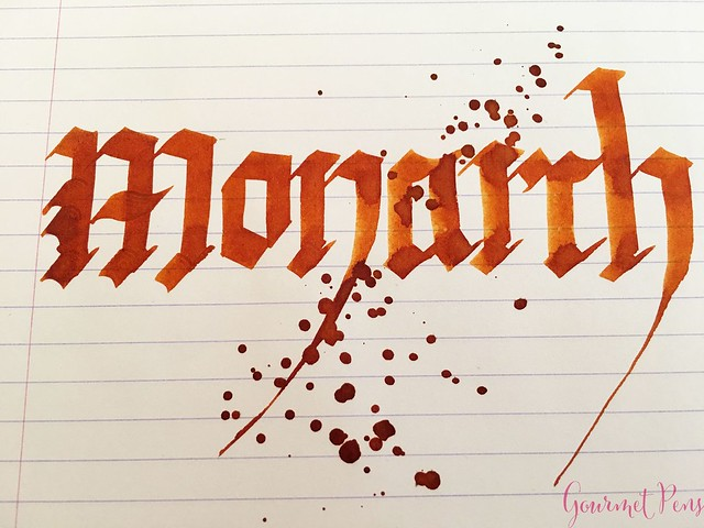 Ink Shot Review KWZI Monarch for @Fontoplum0 7