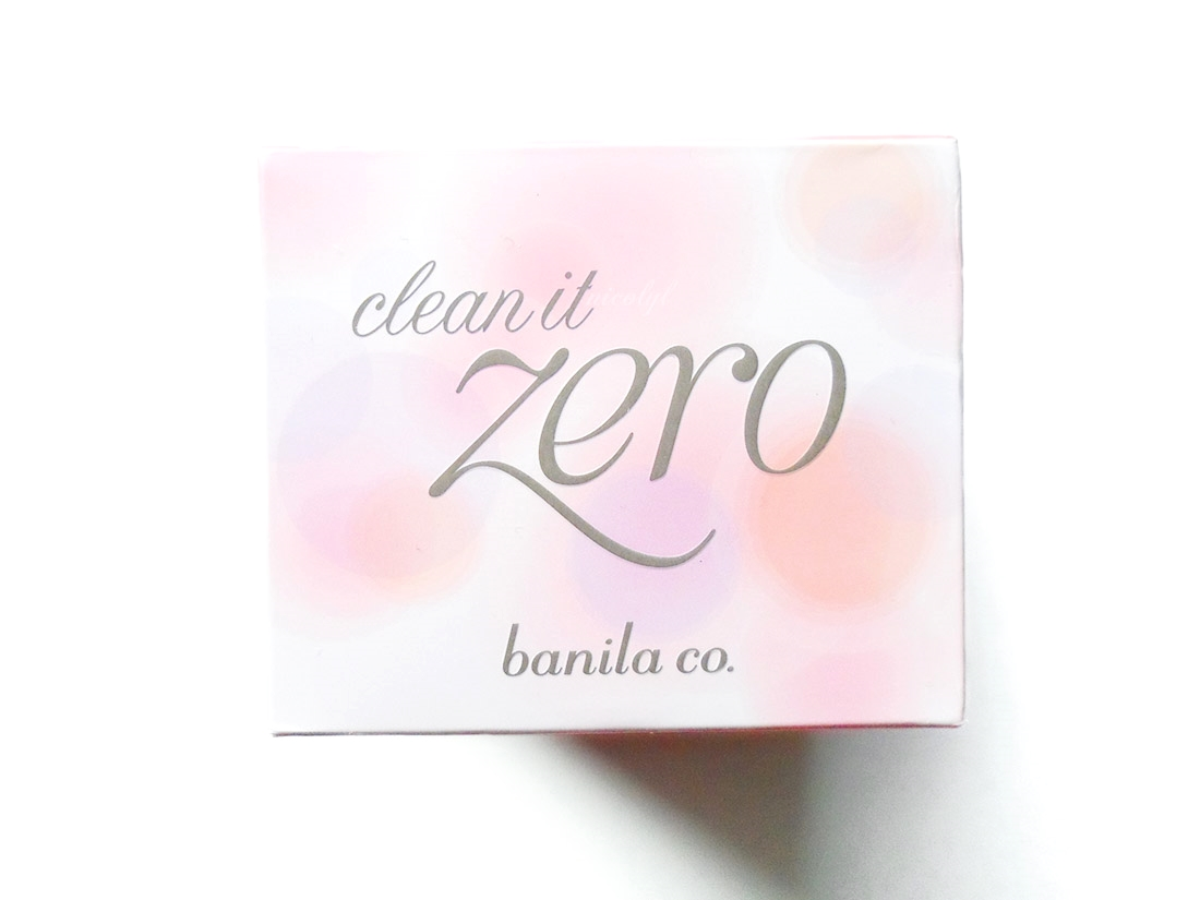 Banila Co Clean It Zero review and swatch