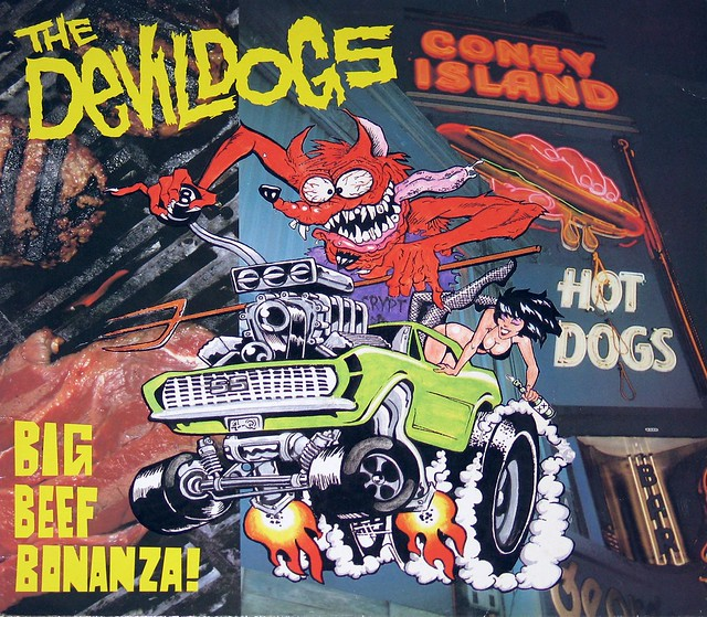 Devil Dogs Big Beef Bonanza! Garage Punk
