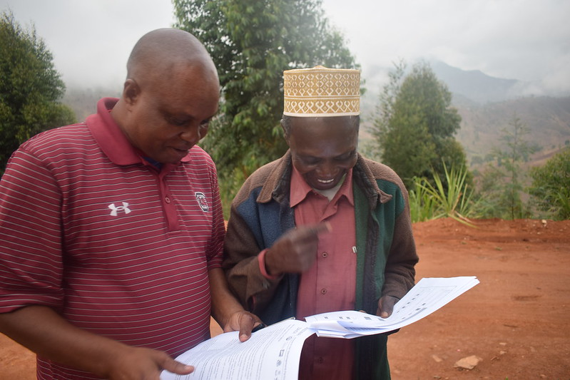 MoreMilkiT handing over of community development plans, Tanzania