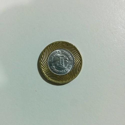 Souvenir token #toronto #ttc #token #subway #streetcar #buses