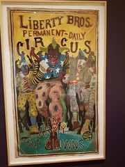 "Michael Ray Charles, ""Liberty Bros. Permanent Daily Circus - Army of Clowns"""