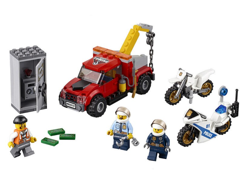 LEGO City 2017 - Tow Truck Trouble (60137)