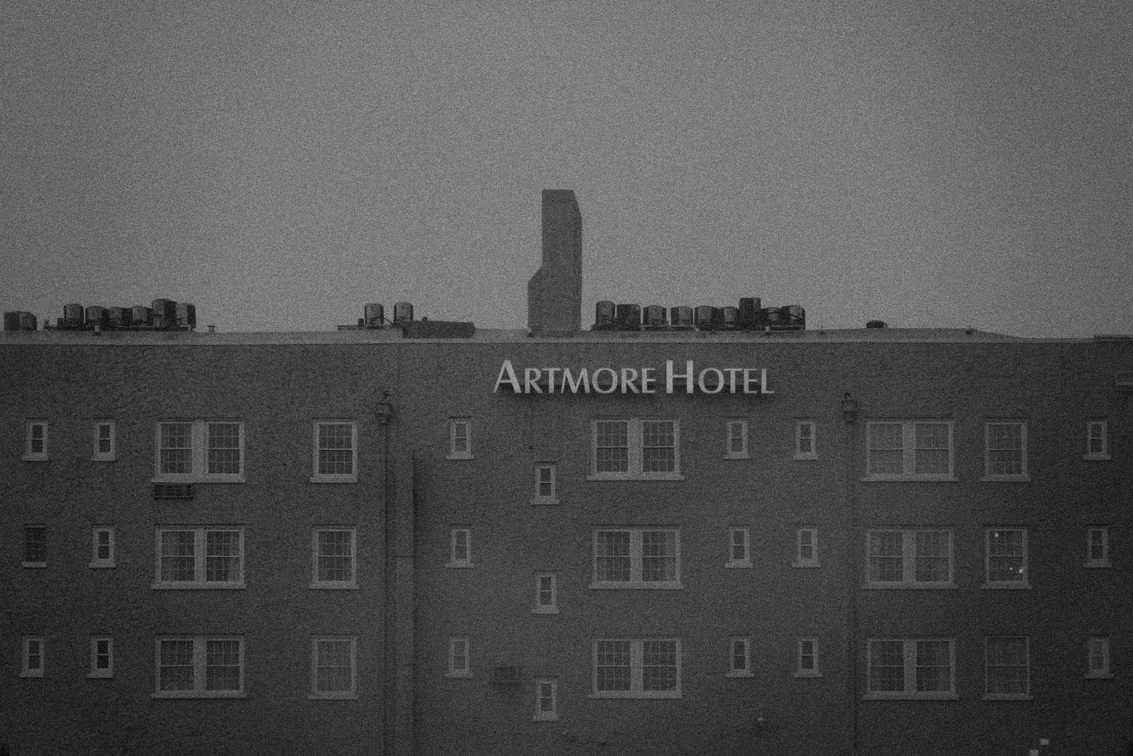 Artmore Hotel, Midtown Atlanta, August 2014