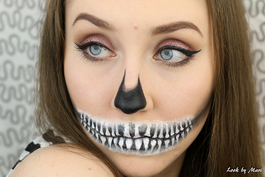 11 skeleton makeup tutorial halloween 2016 ideas inspiration