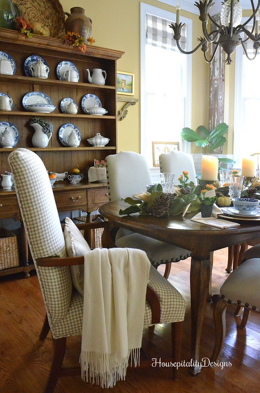 Post Thanksgiving Tablescape - Dining Room - Housepitality Designs