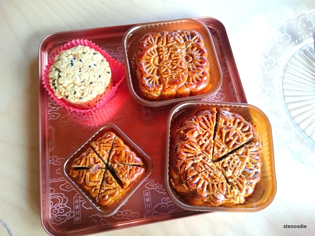Hong Kong mooncakes