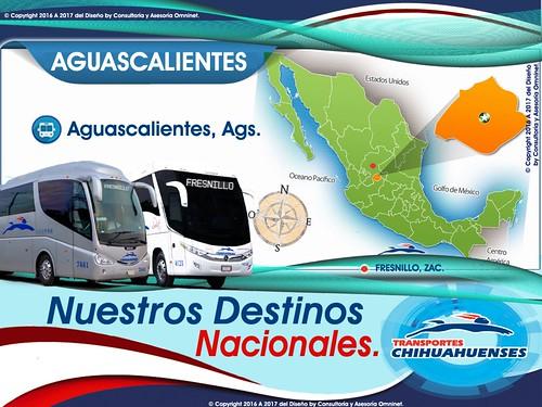 Destinos de Transportes Chihuahuenses