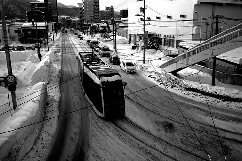 Tramcars at Sapporo on DEC 29, 2016 (61)
