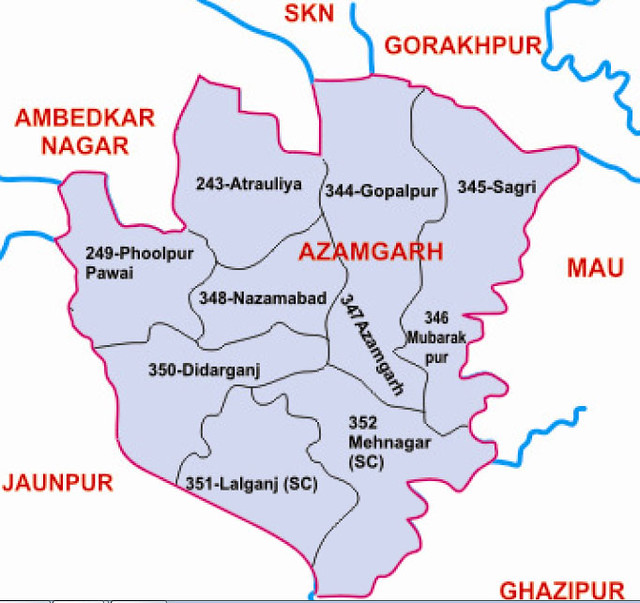 Azamgarh district Uttar Pradesh Election 2017
