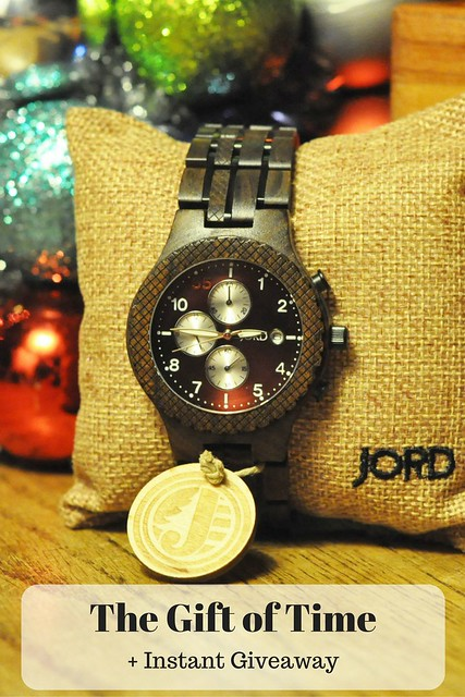 The Gift of Time + Instant Giveaway from JORD