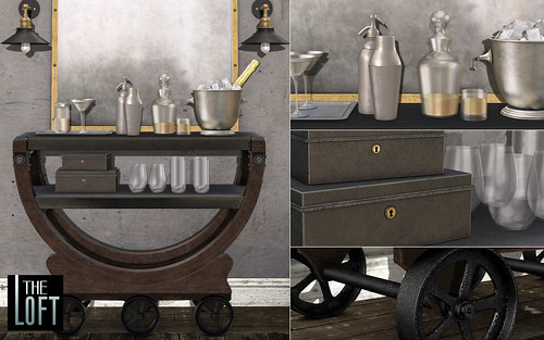 The Loft @ FaMeshed - Pepta Drink Cart