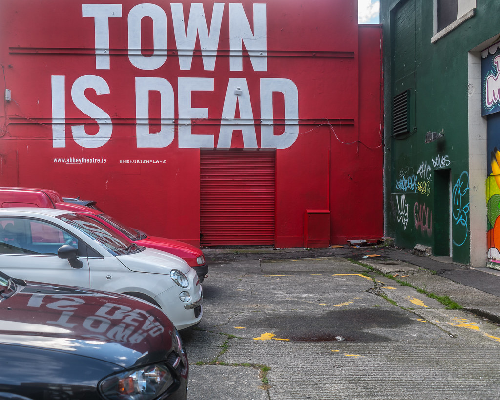 ANOTHER EXAMPLE OF COMMERCIAL STREET ART [#NEWIRISHPLAYS]-1237988