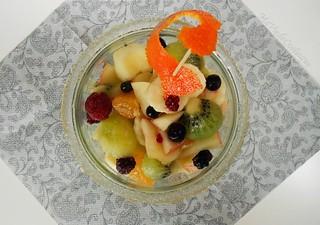 salade de fruit d'automne