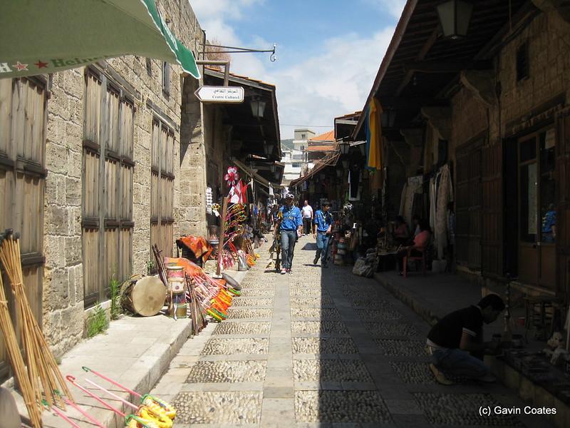 Narrow Market Streets