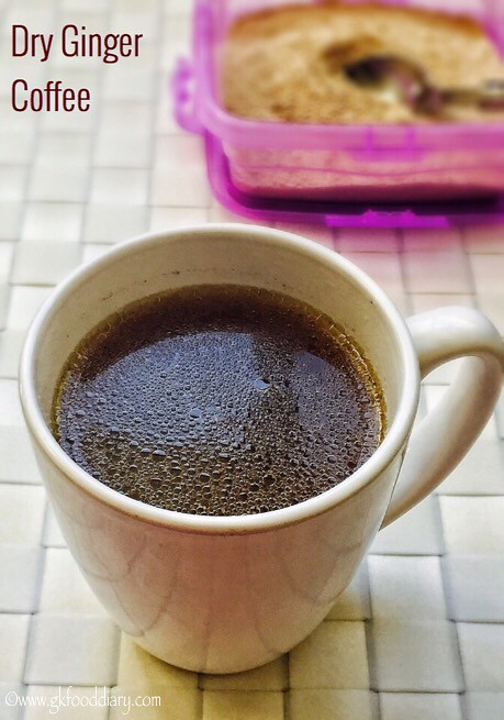 Dry Ginger Coffee Recipe for Toddlers and Kids