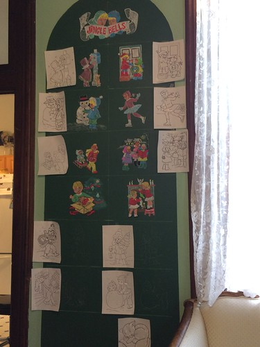 Chalkboard Christmas Tree 2016