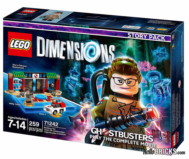 LEGO 71242 - Dimensions - Story pack Ghostbusters