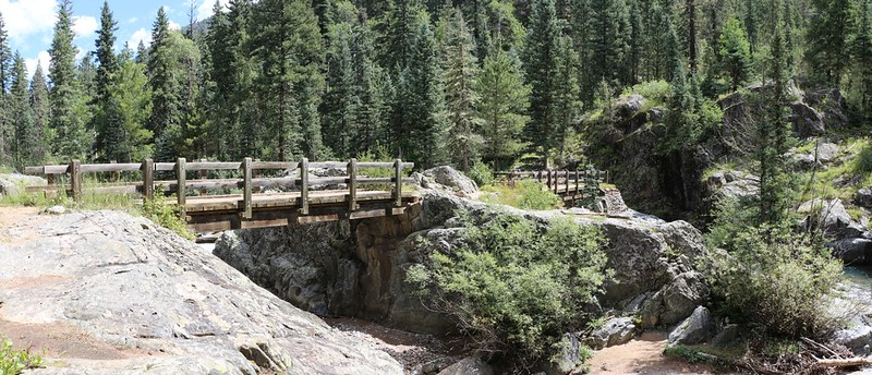 First Bridge on the Vallecito Creek Trail