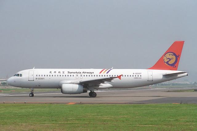 B-22307 Airbus A.320-231 Transasia Airways