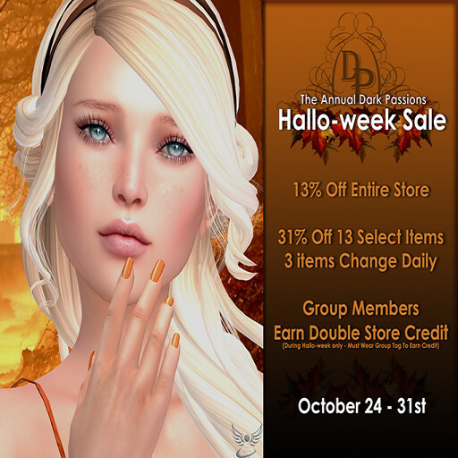 Dark Passions - Halloweek Sale 2016 v2