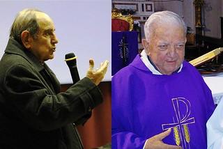 Noicattaro. Don Franco Ardito e don Giuseppe Saponaro