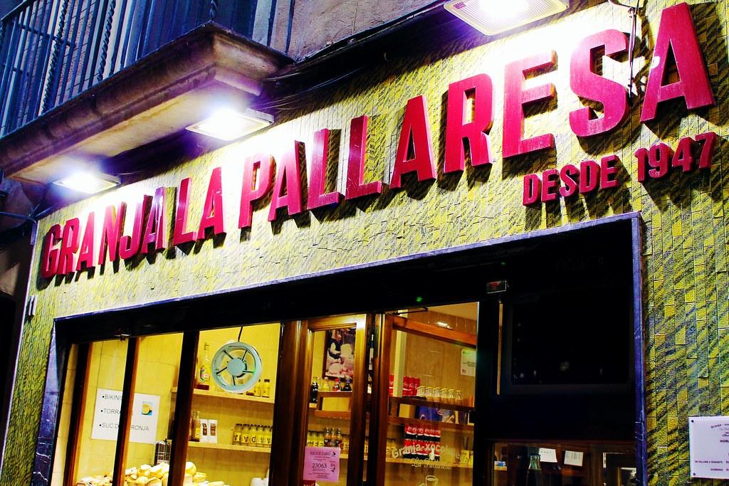 Guia de onde e o que comer em Barcelona - Granja La Pallaresa