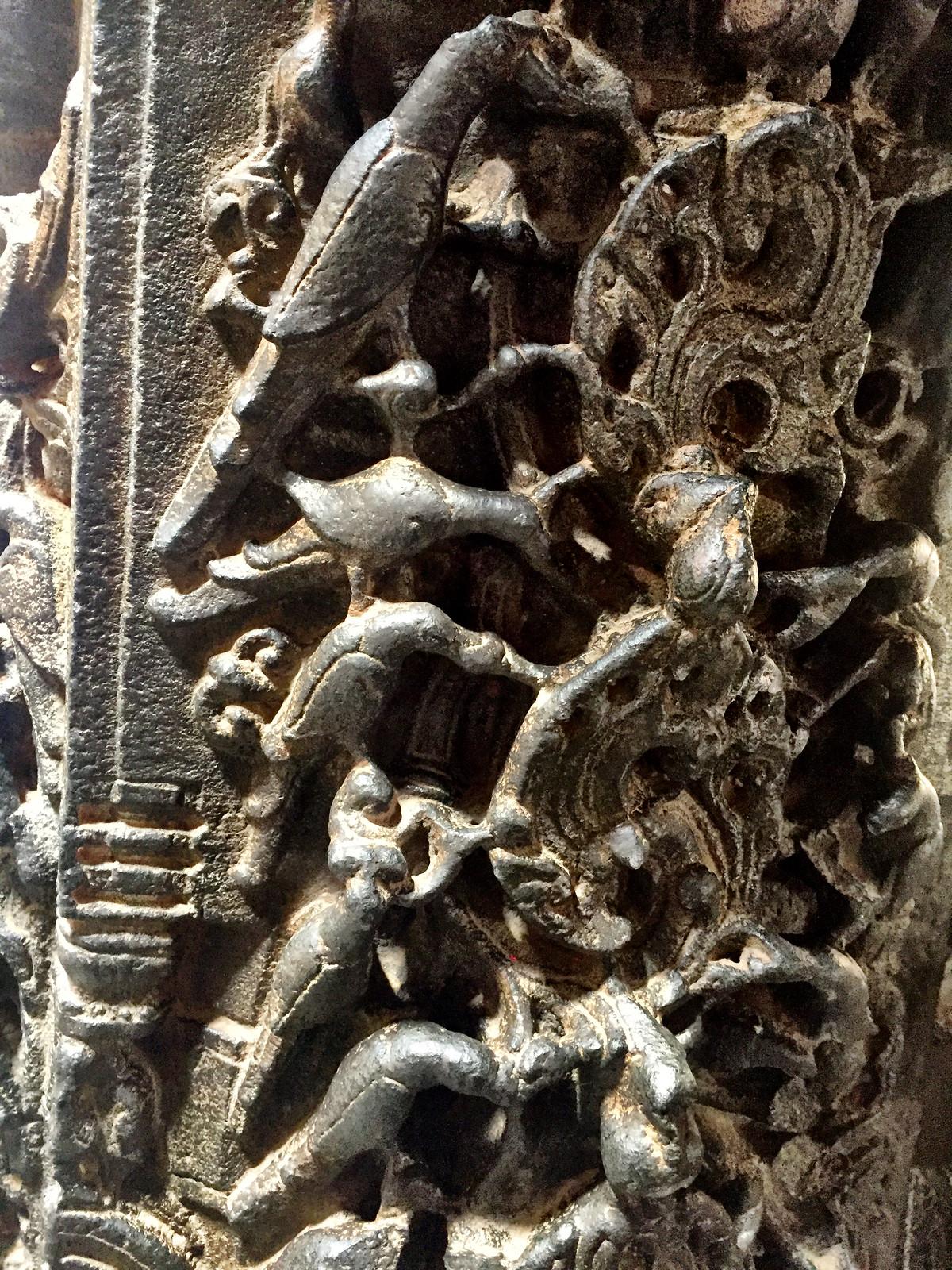 Pillar carvings