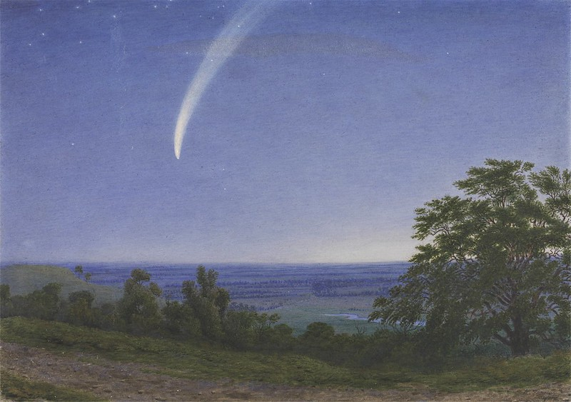 William Turner of Oxford - Donati's Comet (1859)