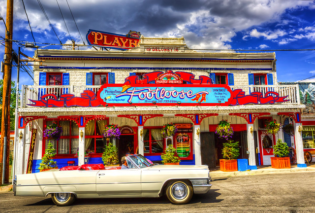 The Playhouse - Jackson Hole - Wyoming by Karen Bullock