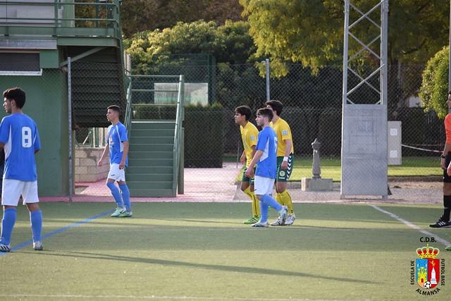 Juvenil Nacional E.F.B.-U.D. Almansa contra Atletico Tomelloso