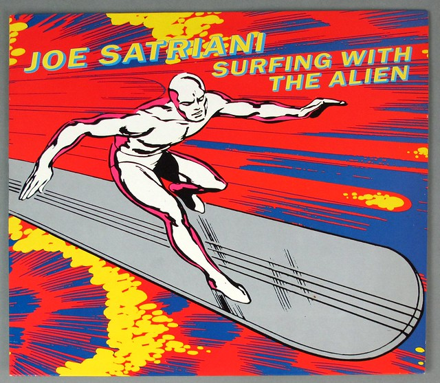 "JOE SATRIANI SURFING WITH THE ALIEN ORIG UK 12"" LP VINYL"