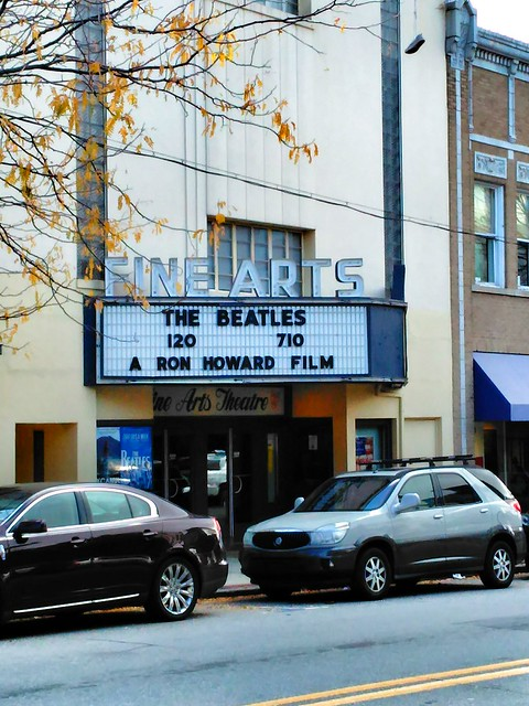 Fine Arts Theater -- Asheville NC