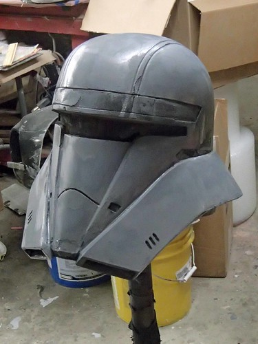Hovertank Pilot Helmet First Primer Pass
