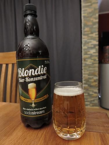 Blondie - Bierkonzentrat für aufgesprudeltes Wasser