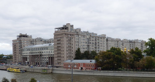 Moskova, Rantakatu