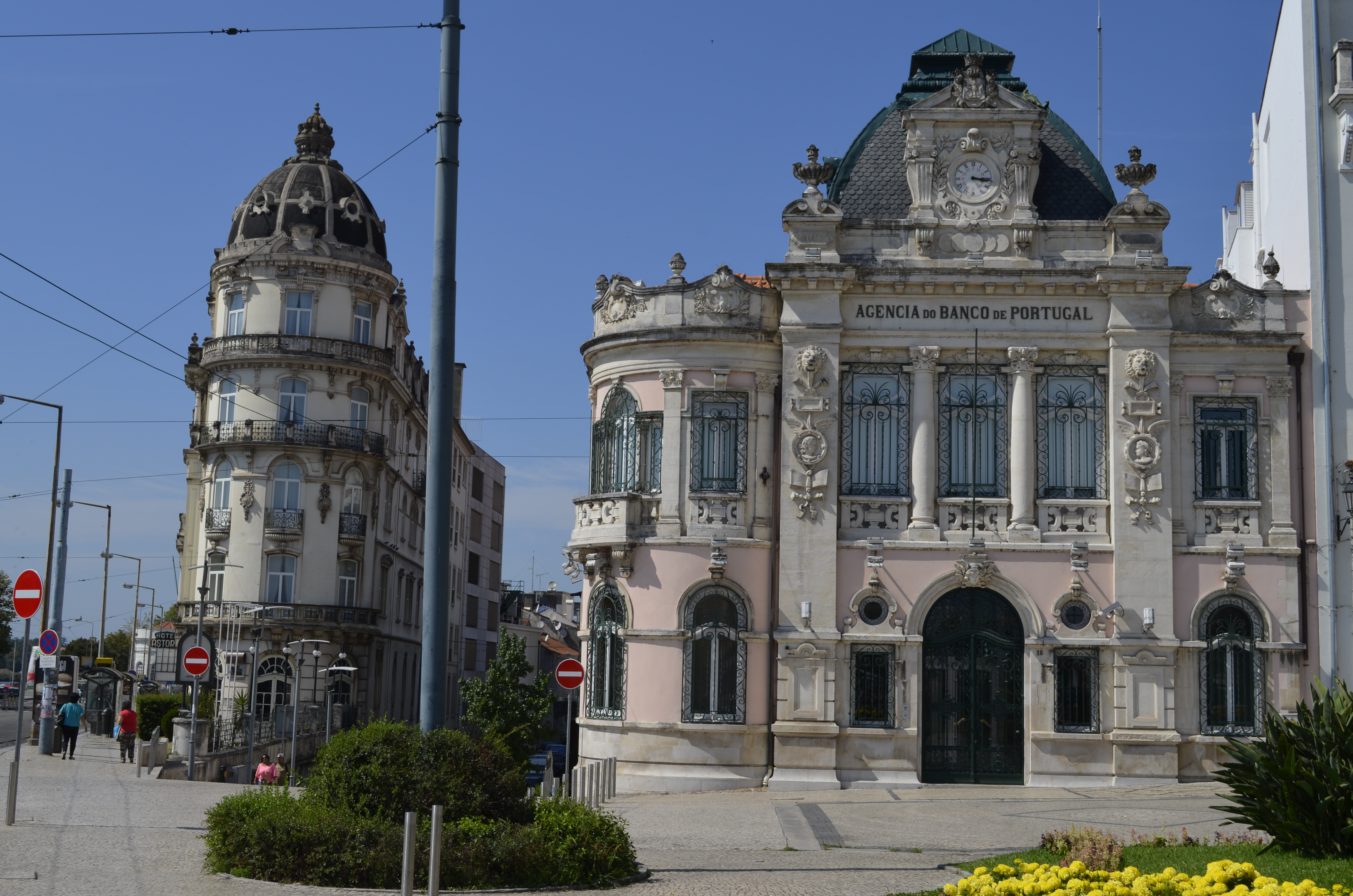 Hotel Astória e Agência do Banco de Portugal Coimbra