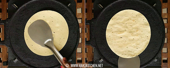 How-to-make-masala-papad-step-1