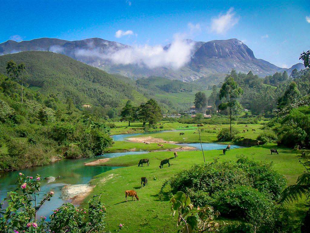 Anamudi Peak, Munnar, Kerala, India