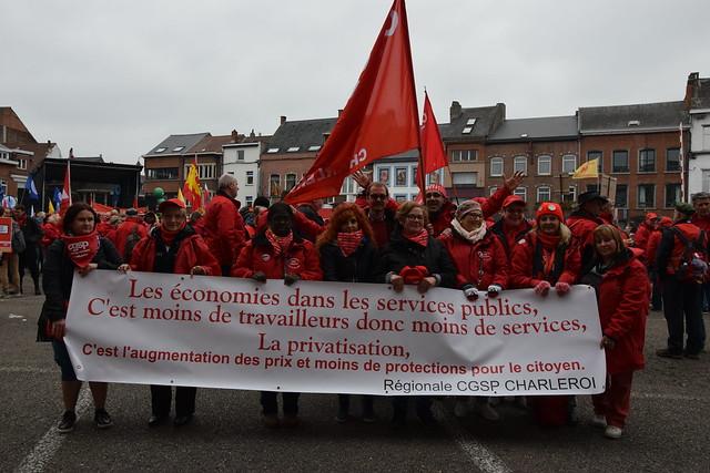 Manifestation Wavre le 7 octobre 2016