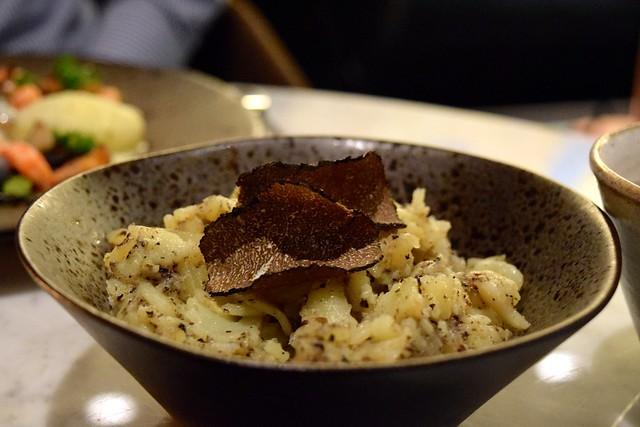Truffle Potatoes at Samarkand, Fitzrovia | www.rachelphipps.com @rachelphipps
