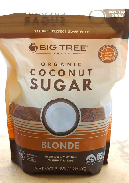 Big Tree organic coconut sugar by Eve Fox, the Garden of Eating, copyright 2016