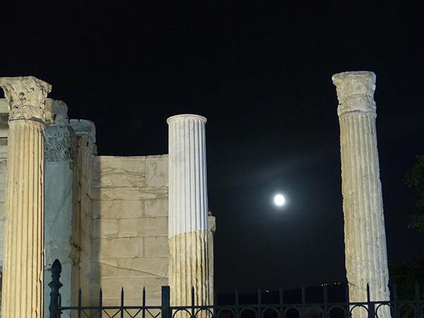 clair de lune à Athènes