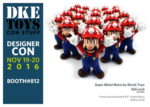 Super Metal Mario by iBreak Toys