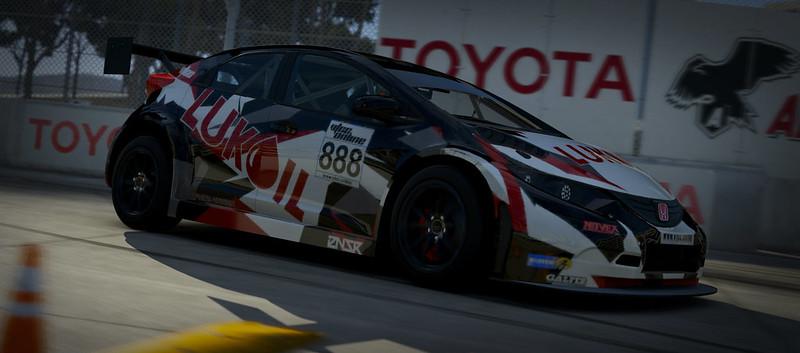 VTCC Spec Series 10 - #5 Zengo Motorsports Honda Civic WTCC 31254210165_b46c64dacf_c