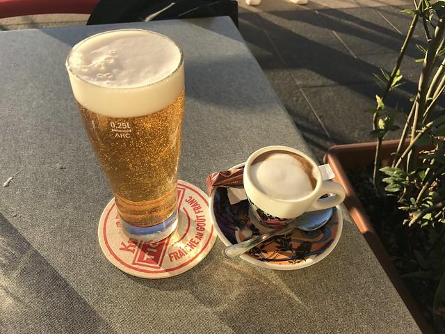 Øl og kaffe