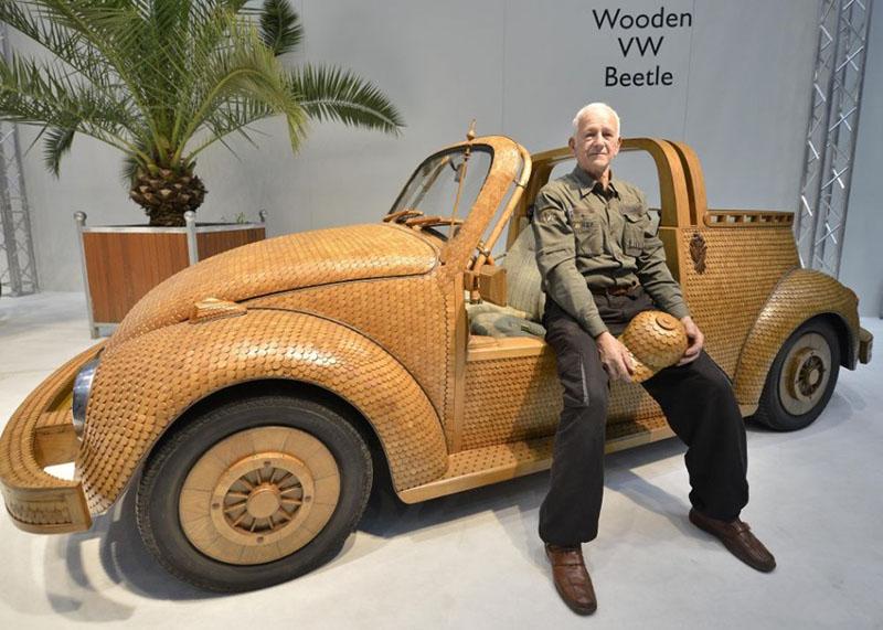 Деревянный автомобиль - ПоЗиТиФфЧиК - сайт позитивного настроения!