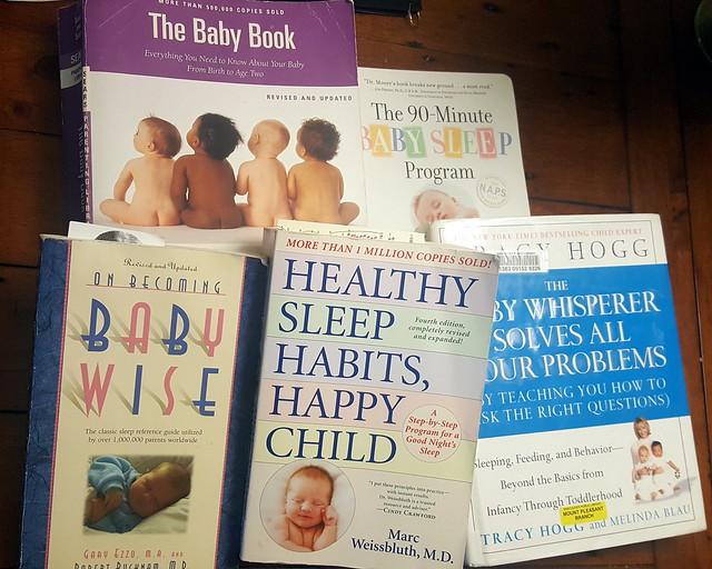 Too Many Baby Sleep Books