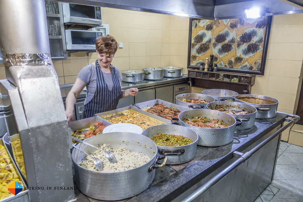 The Kitchen of Restaurant Meteora