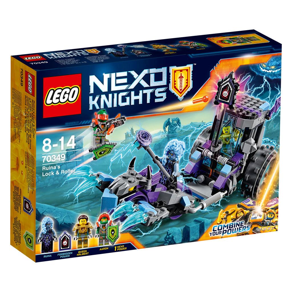 LEGO Nexo Knights 70349 - Ruina's Lock & Roller